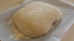 Peasant loaf dough.