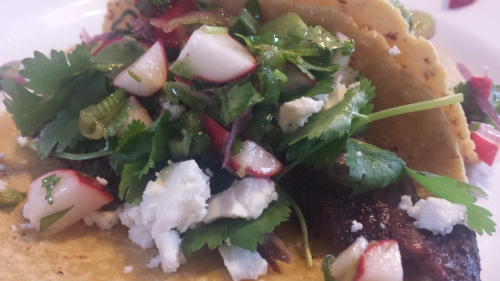 Taco Glamour Shot - All the Fixings